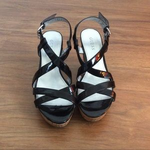 Guess Wedges Size:  9.5M